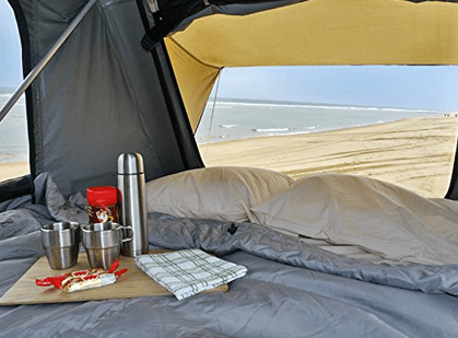 Feather-Lite Roof Top Tent interior