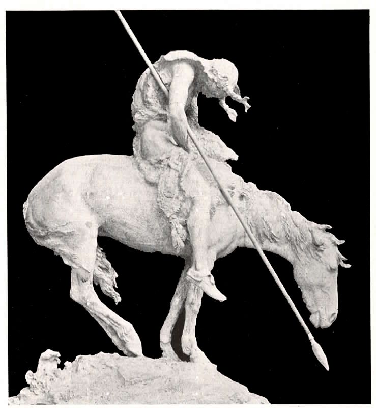 """The artwork of Surf's Up is based on the sculpture """"End of the Trail"""" by James Earle Fraser."""