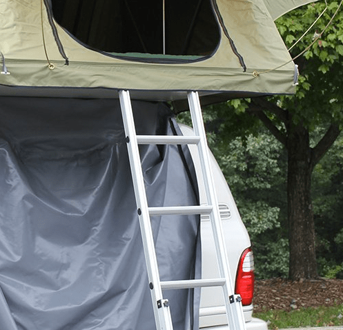 camco 51373 ladder close up review folding rooftop tent
