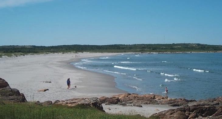 beaches in canada
