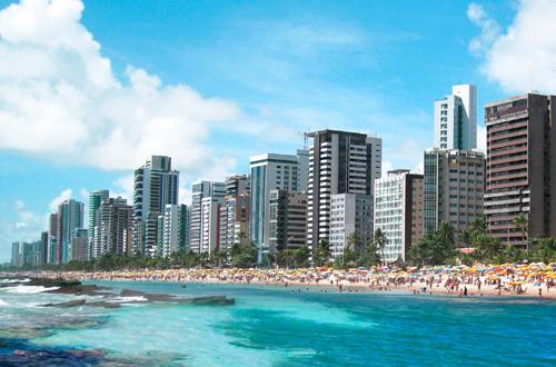 recife brazil shark beach