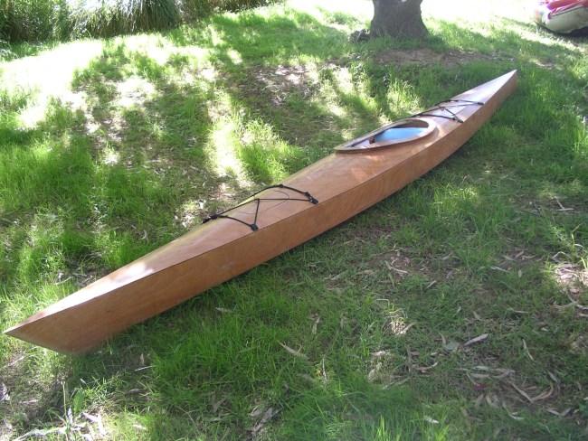 Plywood Sea Kayak