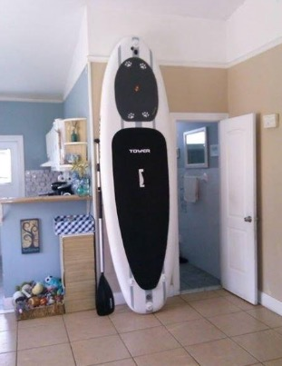 Tower Paddle Boards Adventurer Inflatable 9'10 SUP Package review