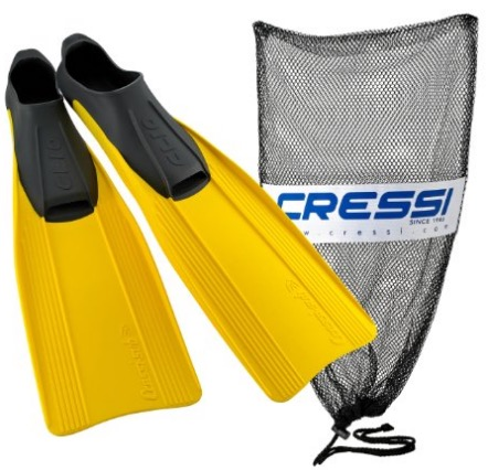 cressi clio snorkeling and diving fin review