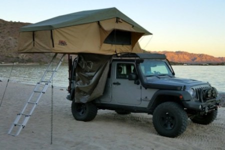rooftop tent tuff stuff overland with annex