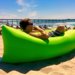 Inflatable Chair Canada Big And Tall Desk Staples Loungecloud The Original Lounger Review