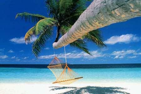 Varadero Cuba Beach Swing