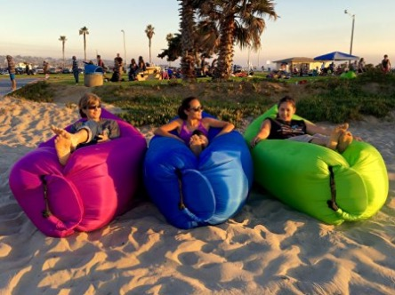 inflatable lounge cloud review