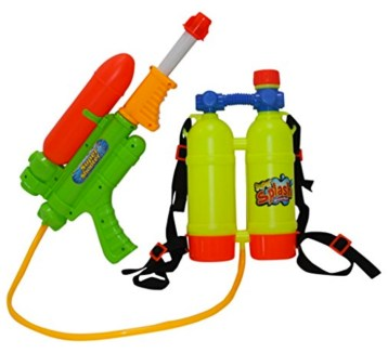 SINTECHNO Water Gun with Backpack Double Water Tanks review