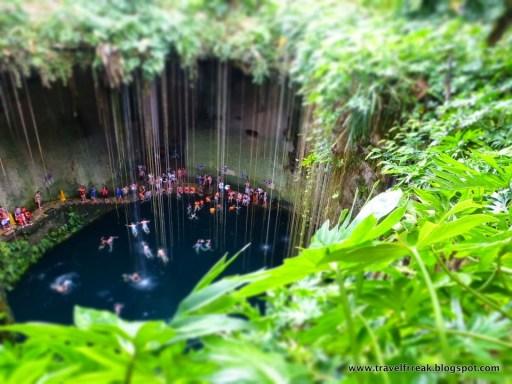 cenotes southern mexico
