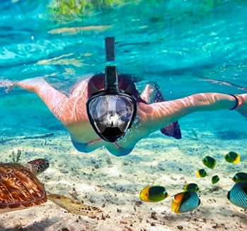 Snorkeling Mask with Anti-Fog