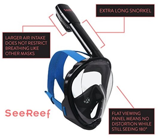 easy breathe 180 degree snorkel
