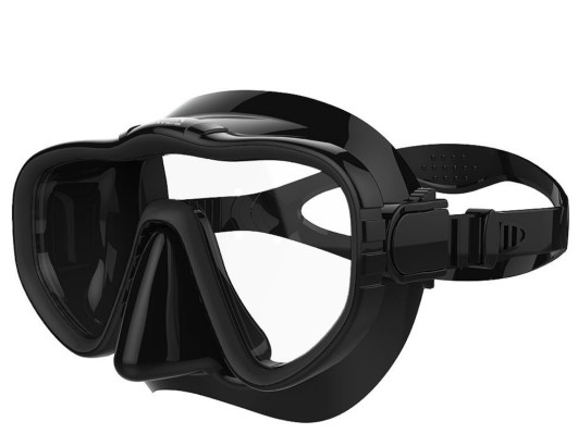 silicone skirt snorkel mask
