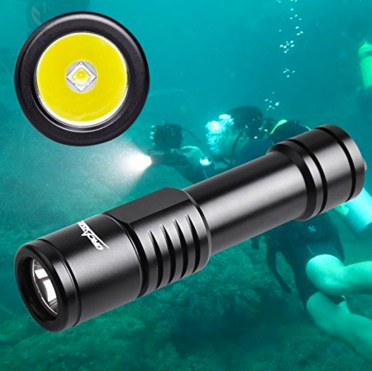 ORCATORCH D520 Diving Flashlight Scuba