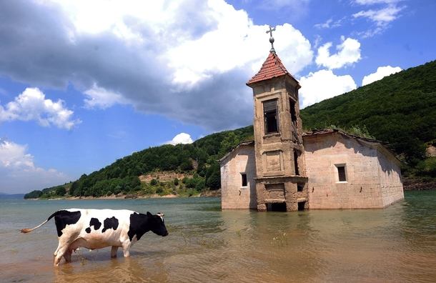 St. Nicholas church mavrovo lake