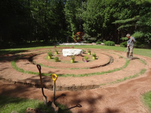 BeachBabyBob's maze garden