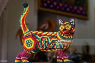 Huichol art Puerto Vallarta