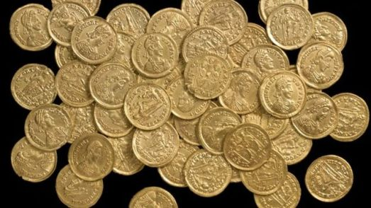 st albans roman gold coin hoard