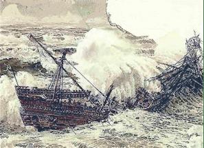 santa margarita shipwreck