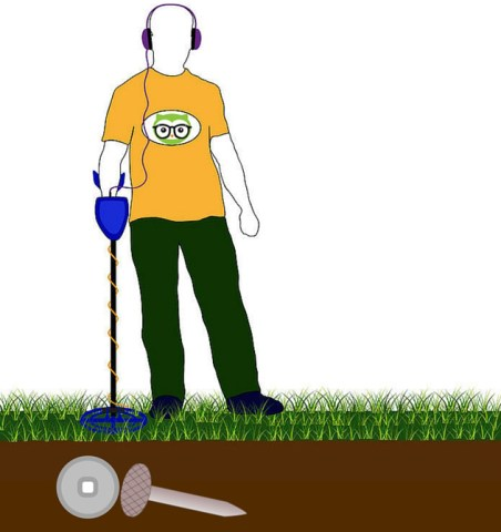 what can a metal detector detect