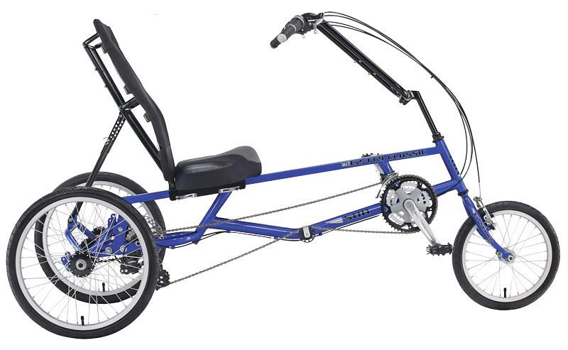 Sun Seeker EZ Recumbent Blue