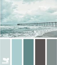 Beach Color Palettes from the Shore - Beach Bliss Living ...