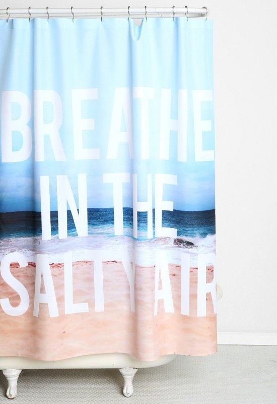 beach themed living room decor design my own furniture shower curtains to create an instant spa feeling