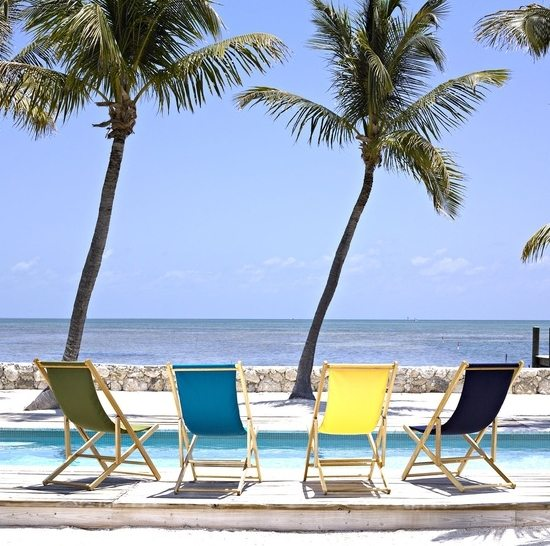 European Style Folding Beach Sling Chairs  Beach Bliss Living