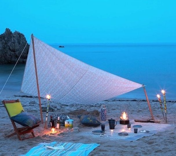 Evening Beach Picnic