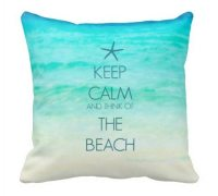 Photo Pillows & Quote Pillows that Capture the Beach ...