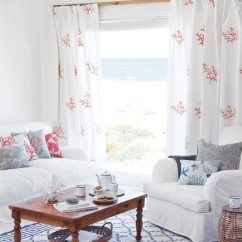 Red Rugs For Living Room Decorate Your Soft Blue & White Decor Ideas To Turn ...
