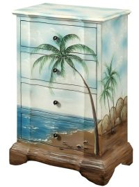 Art & Function with Beach Furniture -Painted Dressers ...