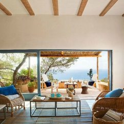 Island Style Decorating Living Room Brown And Off White Ideas Simple Mediterranean On Tranquil Formentera Decor Home