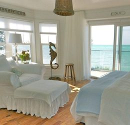 cottage beach coastal bedroom bedrooms decor inside cottages maria anna island room ocean pure living remodeled florida rustic beachblissliving pretty