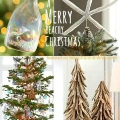Aqua Adirondack Chairs Wayfair Lounge Beach Christmas Decorations & Ideas Inspired By Sea, Sand Shells - Bliss Living