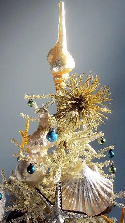 mercury glass christmas tree ornaments