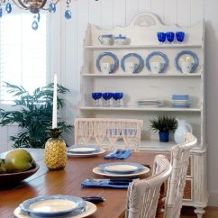 Wooden Frame Beach Chairs Walmart Rocking Nursery Serene Sanibel Cottage Style Home In Blue & Yellow With Some Pink And Florals The Mix - ...