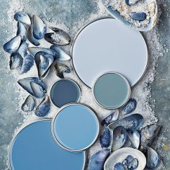 Beachy Living Room Wall Colors Led Strip Lighting Ideas Coastal Paint Color Schemes Inspired From The Beach Blue Gray Scheme