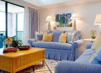 Serene Sanibel Cottage Style Home in Blue & Yellow with ...