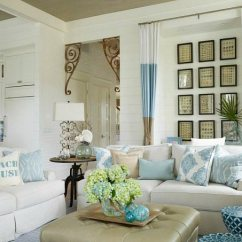 Beach House Living Room Furniture Ideas Lime Green And Blue Elegant Home That Abounds With Decor Bliss Beige White