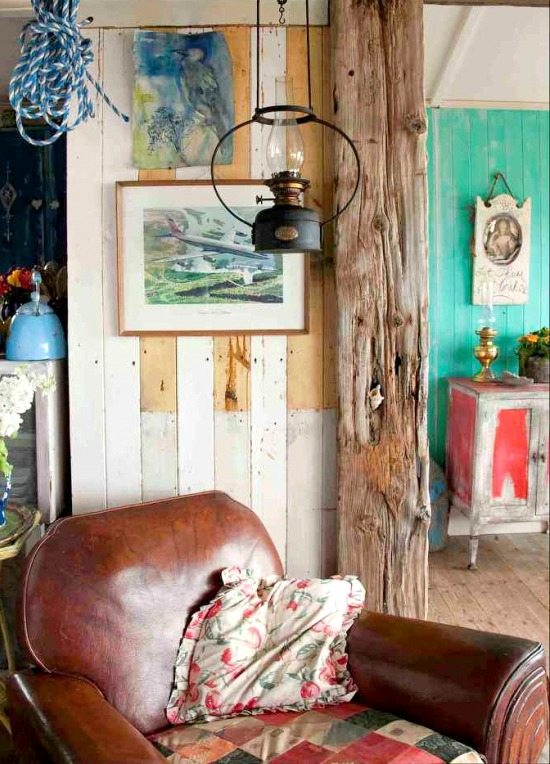 Extremely Rustic Shabby Chic Beach Cottage  Beach Bliss Living
