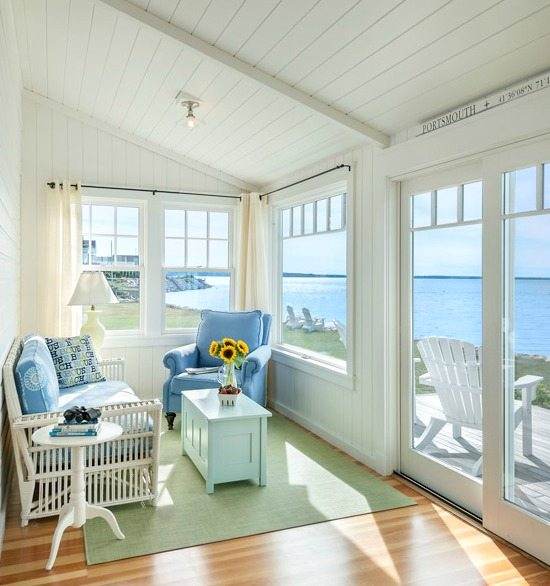 An Indian Decor Blog The Charming: Charming New England Beach Bungalow