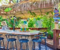 How to Create a Tropical Tiki Backyard - Beach Bliss Living