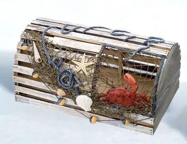 Lobster Trap Wedding Card Holder