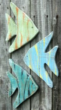 7 Wooden Fish Wall Decor Ideas for your Beach House ...
