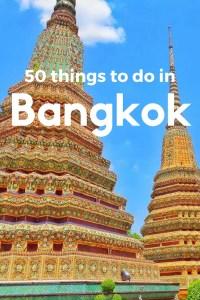 50 things to do in Bangkok, Thailand. Read my travel blog #beaches #islands #holiday #destinations #summer #beach #bikini #sand #sea #ocean #diving #elephants #islandhopping #inspiration #motivation #travel #explore #passport #tropical #beautiful #paradise #nature #wanderlust #view #blue #bucketlist #koh #phangan #samui #tao #bangkok #chiangmai #national parks #snorkelling #diving #adventure