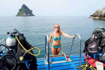 what to take on a dive boat