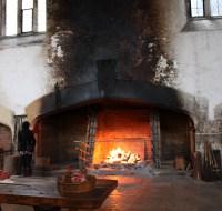 Hampton Court Fireplace | Displaced Beachbums
