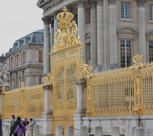 Gold Palace of Versailles Gates