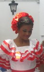 Dominican Republic Traditional Dancer